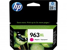 Картридж 3JA28AE для HP OfficeJet Pro-9010-ser/9013/9019/9020-ser/9023, № 963XL (ресурс 1600 страниц), увеличенный, пурпурный